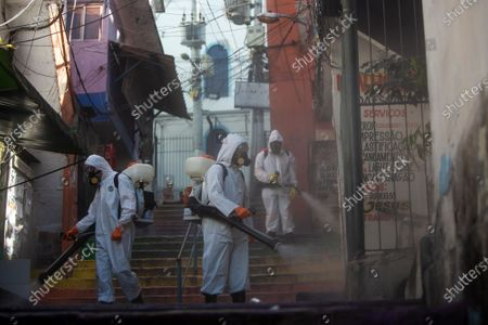 Editorial picture of Virus Outbreak , Rio De Janeiro, Brazil - 24 Apr 2021