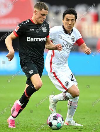 Editorial picture of Bayer 04 Leverkusen vs Eintracht Frankfurt, Germany - 24 Apr 2021