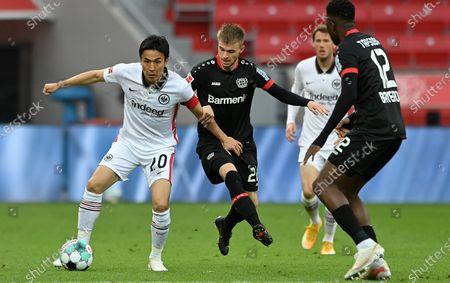 Editorial image of Bayer 04 Leverkusen vs Eintracht Frankfurt, Germany - 24 Apr 2021