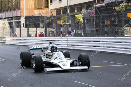 QUALIFIING TESTS of the 12th HISTORIC MONACO GRAND PRIX, 27, HAZELL Mark, GBR, HAZELL Mark, WILLIAMS, FW07B, 1980, Class 2, (Serie G, 3L Grand Prix Cars from 1977 to 1980)