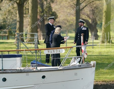Editorial picture of The Association of Dunkirk Little Ships pay tribute to HRH Prince Phillip, Windsor, UK - 24 Apr 2021