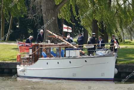 Editorial image of The Association of Dunkirk Little Ships pay tribute to HRH Prince Phillip, Windsor, UK - 24 Apr 2021