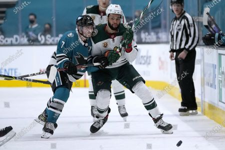 Editorial picture of Wild Sharks Hockey, San Jose, United States - 24 Apr 2021