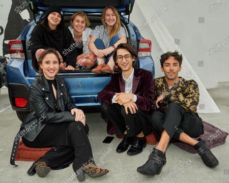 Stock Picture of Young Entertainment Activists (YEA!), Alex Creswick, Ali Weinstein, Allison Begalman, Sarah Jones, Samuel Rubin and Spencer Paez