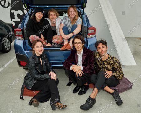 Stock Image of Young Entertainment Activists (YEA!), Alex Creswick, Ali Weinstein, Allison Begalman, Sarah Jones, Samuel Rubin and Spencer Paez