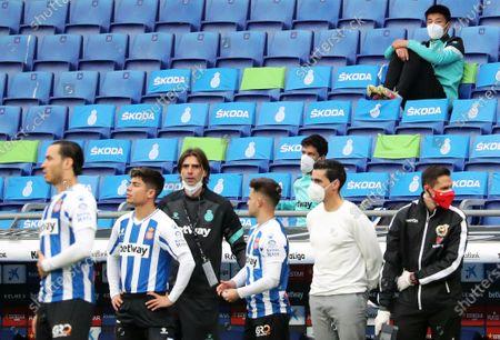 Editorial picture of Espanyol v Las Palmas - LaLiga 2, Barcelona, Spain - 24 Apr 2021