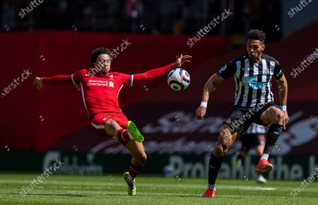 Editorial photo of Britain Liverpool Football First League Liverpool vs Newcastle United - 24 Apr 2021