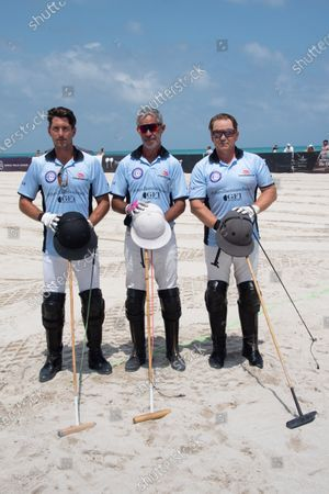 Nicolas Roldan, from left, Horacio Heguy and Marc Ganzi - team the Ritz Carlton / GCI.
