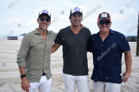 Nicolas Roldan, from left, Nacho Figueras and Marc Ganzi.