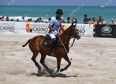 Editorial photo of The World Polo League, Beach Polo, Miami Beach, Florida, USA - 24 Apr 2021