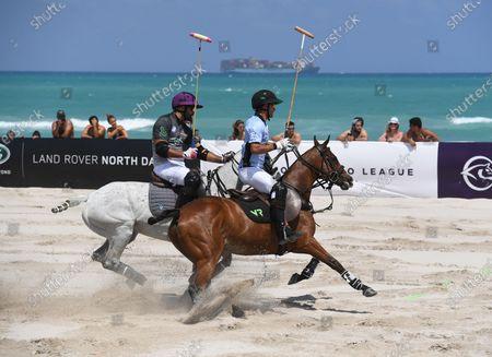 Editorial picture of The World Polo League, Beach Polo, Miami Beach, Florida, USA - 24 Apr 2021