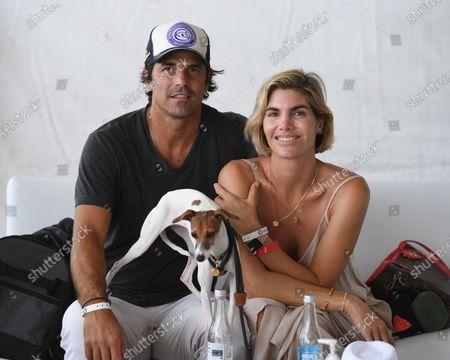 Nacho Figueras and his wife Delfina Blaquier