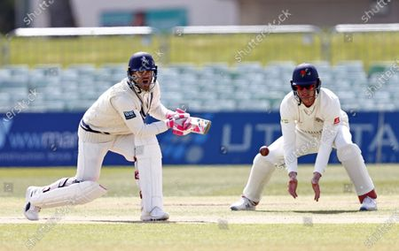 Editorial image of Kent CCC vs Lancashire CCC, LV Insurance County Championship Group 3, Cricket, The Spitfire Ground, Canterbury, Kent, United Kingdom - 25 Apr 2021