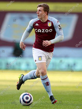 Football - 2020 / 2021 Premier League - Aston Villa vs West Bromwich Albion - Villa Park Matt Targett of Aston Villa