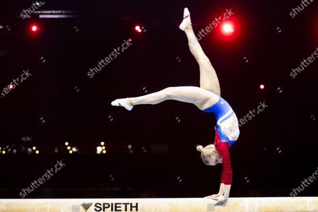 Editorial image of European Artistic Gymnastics Championship 2021, Basel, Switzerland - 25 Apr 2021