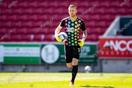 Daniel Bentley of Bristol City during the EFL Sky Bet Championship match between Bristol City and Luton Town at Ashton Gate, Bristol
