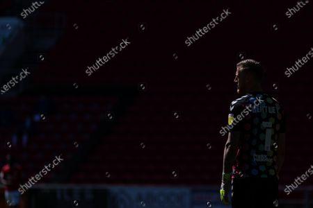 Daniel Bentley of Bristol City looks on- Mandatory by-line: Will Cooper/JMP