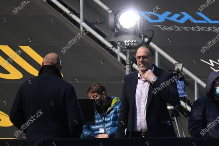 BT Sport pundit Martin Bayfield during the Gallagher Premiership Rugby match between Wasps and Bath Rugby at the Ricoh Arena, Coventry