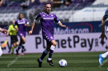 Franck Ribery of ACF Fiorentina in action