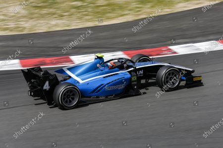 Editorial image of Formula 2 Testing In Barcelona - Day 3, Montmelo, Spain - 25 Apr 2021