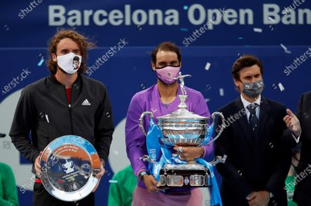 Editorial picture of Barcelona Open Banc Sabadell tennis tournament, Spain - 25 Apr 2021