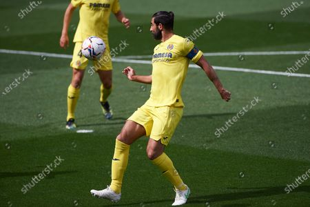 Raul Albiol of Villarreal CF during the La Liga match between Villarreal and FC Barcelona at Estadio de la Ceramica on 25 April, 2021 in Vila-real, Spain