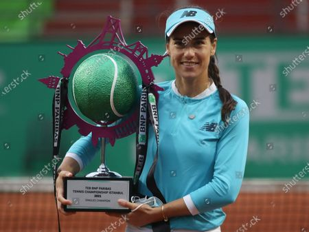 Editorial photo of Tennis WTA Istanbul Championships, Turkey - 25 Apr 2021