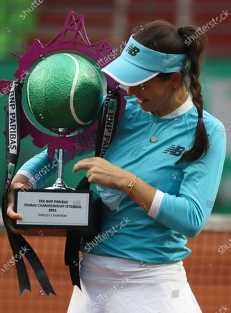 Editorial image of Tennis WTA Istanbul Championships, Turkey - 25 Apr 2021