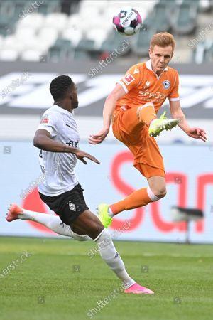 Editorial picture of Borussia Moenchengladbach vs Arminia Bielefeld, Germany - 25 Apr 2021