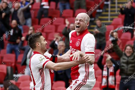 Editorial picture of Ajax Amsterdam vs AZ Alkmaar, Netherlands - 25 Apr 2021