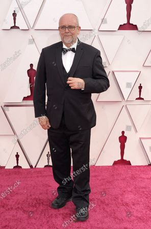 Editorial photo of 93rd Academy Awards - Arrivals, Los Angeles, United States - 25 Apr 2021