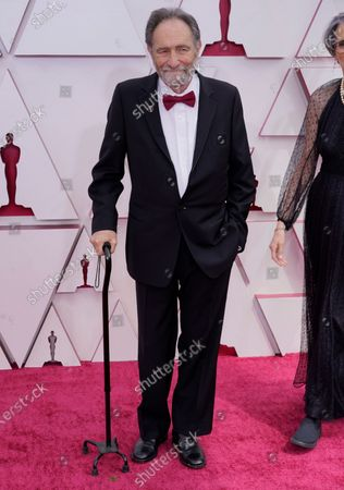 Eric Roth arrives for the 93rd annual Academy Awards ceremony at Union Station in Los Angeles, California, USA, 25 April 2021. The Oscars are presented for outstanding individual or collective efforts in filmmaking in 24 categories. The Oscars happen two months later than originally planned, due to the impact of the coronavirus COVID-19 pandemic on cinema.