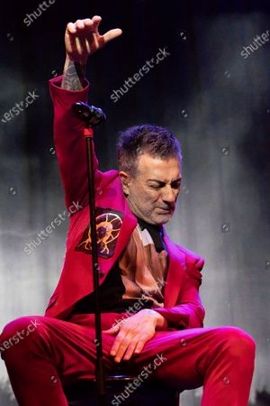 Editorial photo of Hamlet performance, Madrid, Spain - 25 Apr 2021