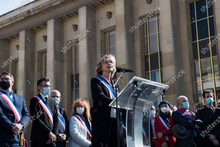 Editorial image of At Least 20,000 People In Paris To Demand Justice For Sarah Halimi, France - 25 Apr 2021