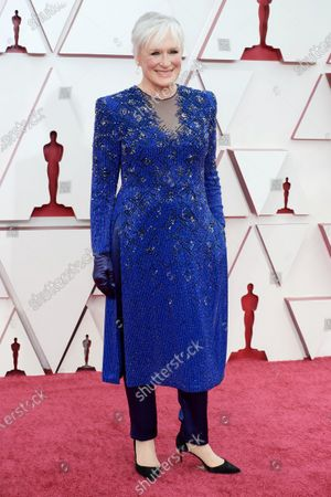 Glenn Close on the red carpet with of The 93rd Oscars® at Union Station in Los Angeles, CA on Sunday, April 25, 2021.