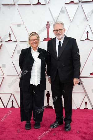 Editorial image of 93rd Annual Academy Awards, Arrivals, Los Angeles, USA - 25 Apr 2021