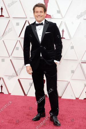 Editorial photo of 93rd Annual Academy Awards, Arrivals, Los Angeles, USA - 25 Apr 2021