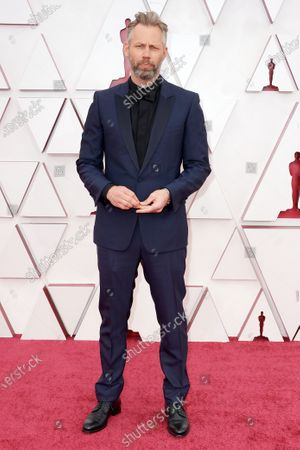 Stock Picture of Darius Marder arrives on the red carpet of The 93rd Oscars® at Union Station in Los Angeles, CA on Sunday, April 25, 2021.