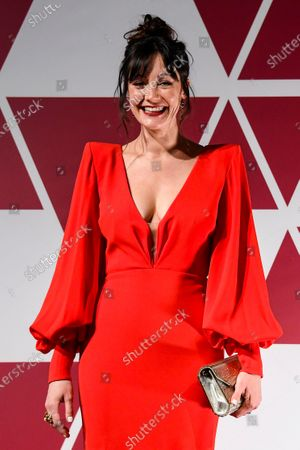 Stock Photo of Laura Allen arrives at a screening of the Oscars