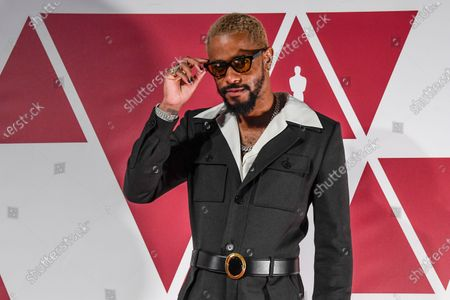 Lakeith Stanfield arrives at a screening of the Oscars
