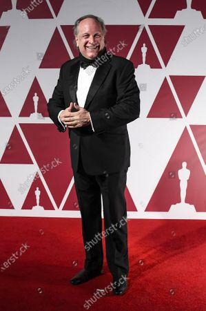 Stock Picture of Douglas Urbanski  arrives for the 93rd annual Academy Awards screening in London, Britain, 26 April 2021. The Oscars are presented for outstanding individual or collective efforts in filmmaking in 24 categories. The Oscars happen two months later than originally planned, due to the impact of the coronavirus COVID-19 pandemic on cinema.