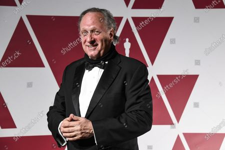 Douglas Urbanski  arrives for the 93rd annual Academy Awards screening in London, Britain, 26 April 2021. The Oscars are presented for outstanding individual or collective efforts in filmmaking in 24 categories. The Oscars happen two months later than originally planned, due to the impact of the coronavirus COVID-19 pandemic on cinema.