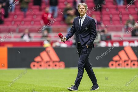 General Manager of Ajax Edwin van der Sar during the Dutch Eredivisie match between Ajax and AZ Alkmaar in the Johan Cruijff Arena