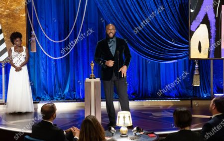 Editorial image of 93rd Annual Academy Awards, Show, Los Angeles, USA - 25 Apr 2021