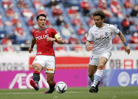 Editorial image of J1 2021 : Urawa Red Diamonds 3-2 Oita Trinita, Saitama, Japan - 25 Apr 2021