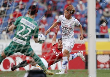 Editorial picture of J1 2021 : Urawa Red Diamonds 3-2 Oita Trinita, Saitama, Japan - 25 Apr 2021
