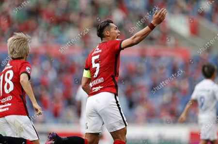 Editorial photo of J1 2021 : Urawa Red Diamonds 3-2 Oita Trinita, Saitama, Japan - 25 Apr 2021