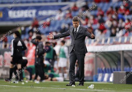 Stock Image of Ricardo Rodriguez Head Coach (Reds) - Football / Soccer : 2021 J1 League match between Urawa Red Diamonds 3-2 Oita Trinita at Saitama Stadium 2002, Saitama, Japan.