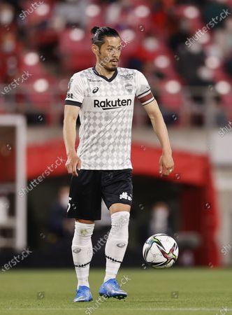 Hotaru Yamaguchi (Vissel) - Football / Soccer : 2021 J1 League match between Kashima Antlers 1-1 Vissel Kobe at Kashima Stadium, Kashima, Ibaraki, Japan.