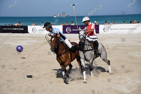 Editorial image of World Polo League, Beach Polo, Miami Beach, Florida, USA - 25 Apr 2021